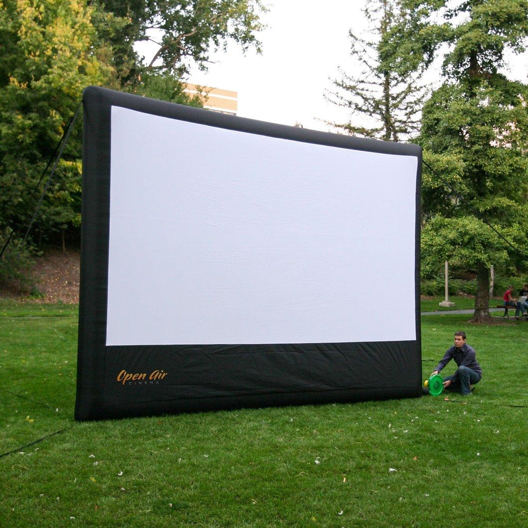 Big screen for projector