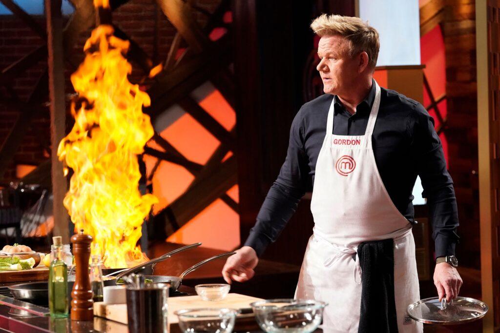 Gordon Ramsey Cooking