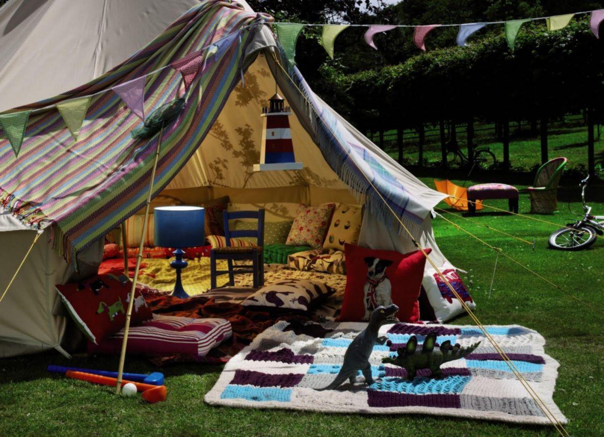Backyard Camping