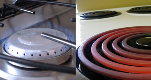 Gas stove and Electric stove