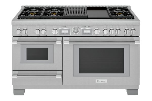 Thermador Pro Grand Steam stove of What stoves do chefs use at home?