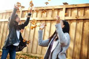 Fun Things to Do Outside in Your Backyard in Fall