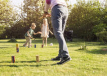 Wooden Peg Lawn Game
