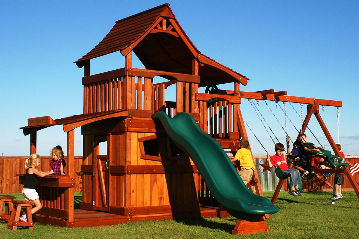 Photo of Backyard Fun Factory Pricing with kids
