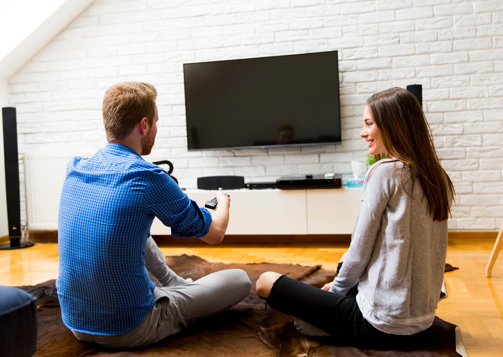 Watching in Smart tv