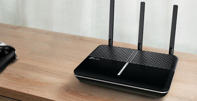 Photo of router