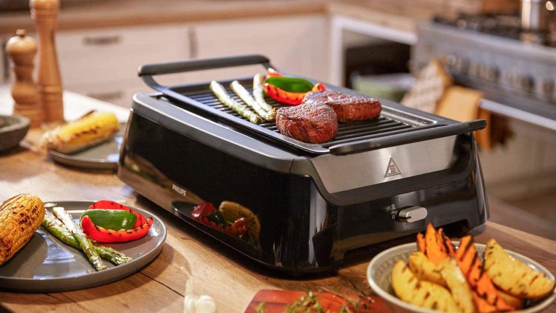 Photo of smokeless grill