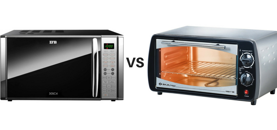 Toaster oven vs microwaves